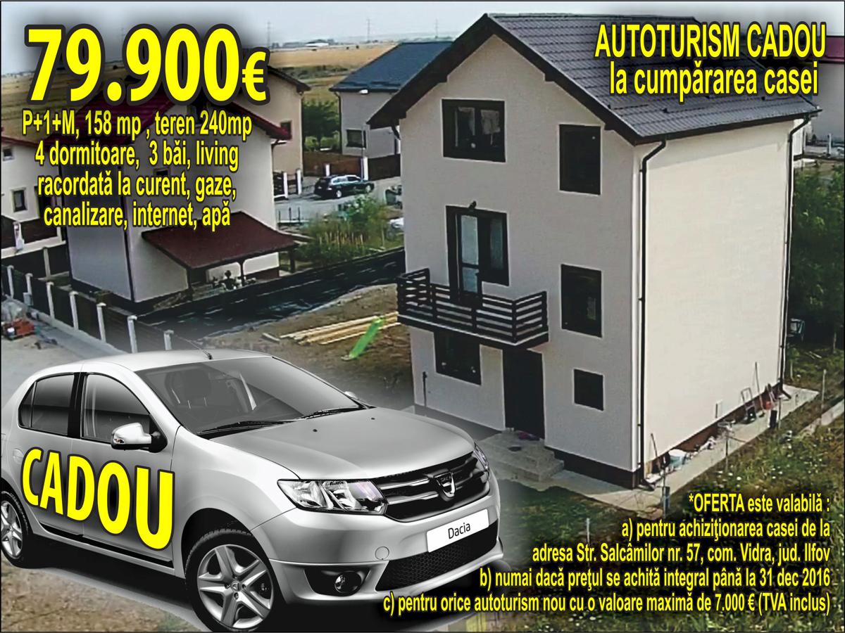 GRATUIT: autoturism nou la achizitionarea unei case